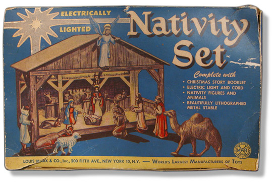 Marx Nativity Set